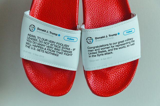 Bán hàng bá đạo: Dép in hình Twitter Tổng thống Trump, thu hàng chục tỷ - 9