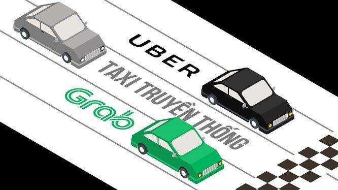 Bộ GTVT muốn áp quy định quản lý Grab car như với taxi