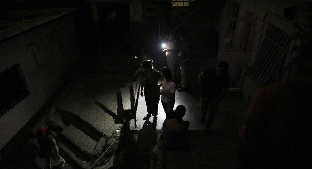 Thủ đô Venezuela lại chìm trong bóng tối vì mất điện không rõ nguyên nhân