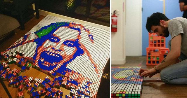 Chàng trai 24 tuổi kiếm hàng ngàn USD nhờ bán tranh từ… khối Rubik - 6