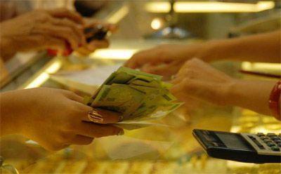 Giá vàng đồng loạt sụt giảm