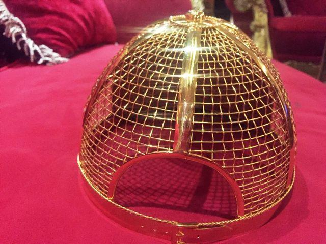 Mục sở thị chiếc nón vàng gần 1,85 tỷ đồng của đại gia Sài Gòn - 3
