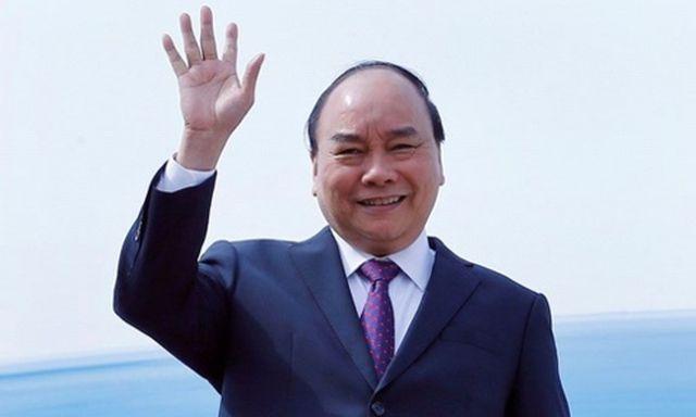 """Thủ tướng lên đường đi Trung Quốc dự Diễn đàn """"Vành đai và Con đường"""" - 1"""