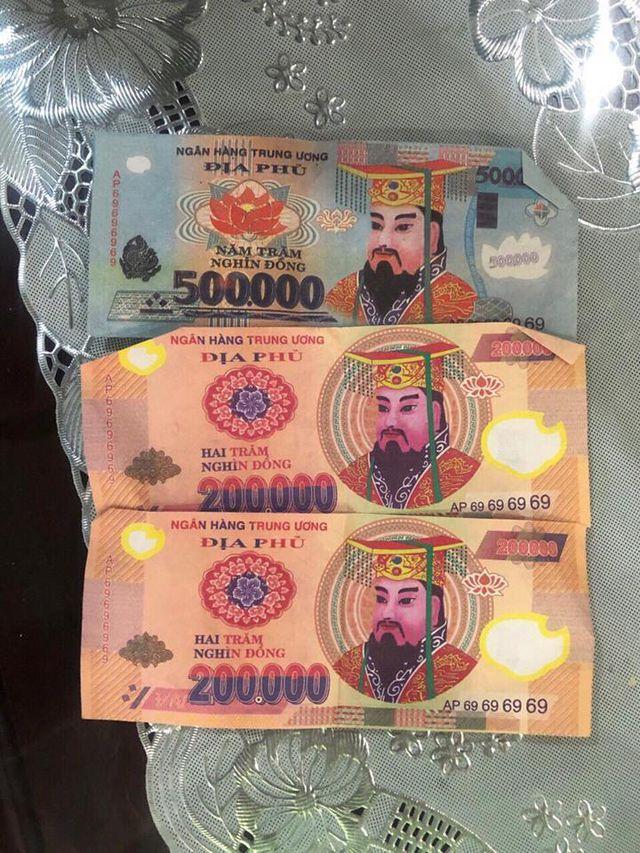 Khó tin: Tráo tiền âm phủ lấy hơn 7 tỷ đồng trong két ngân hàng - 3