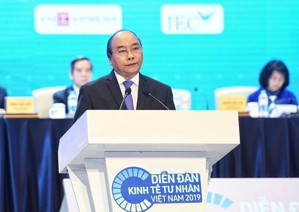Thủ tướng: Việt Nam chỉ hùng mạnh khi doanh nghiệp tư nhân có thể cạnh tranh toàn cầu