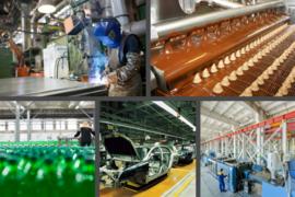 Sản xuất của Việt Nam sụt giảm trong tháng 7