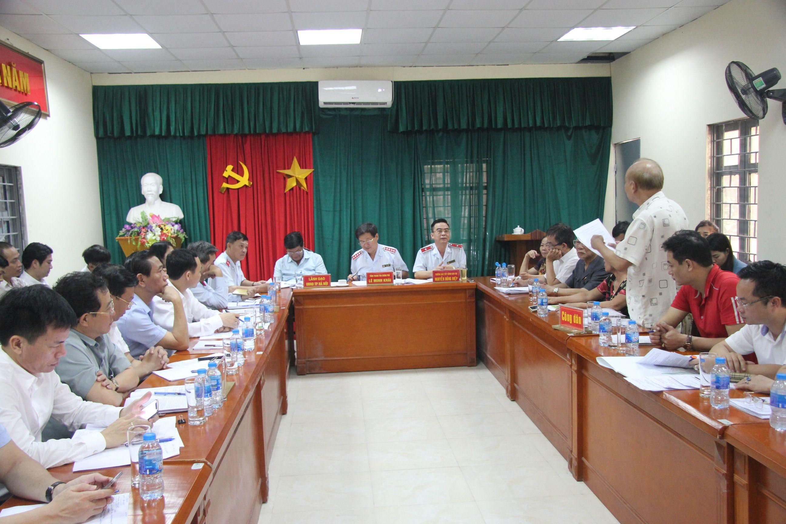 Đề nghị Hà Nội công khai hồ sơ pháp lý