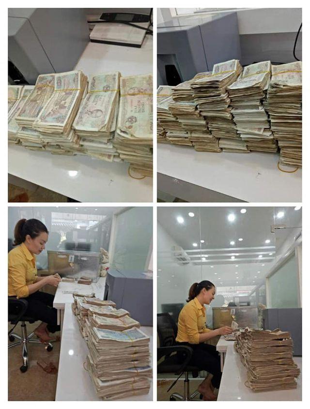 Vợ chồng già 78 tuổi chở bao tải tiền gửi tiết kiệm: Hy hữu ở Quảng Bình - 4