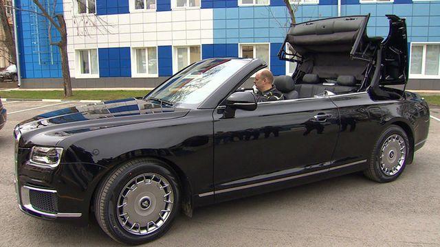 """Cận cảnh dàn limousine được mệnh danh """"Rolls-Royce mui trần"""" của nước Nga - 2"""