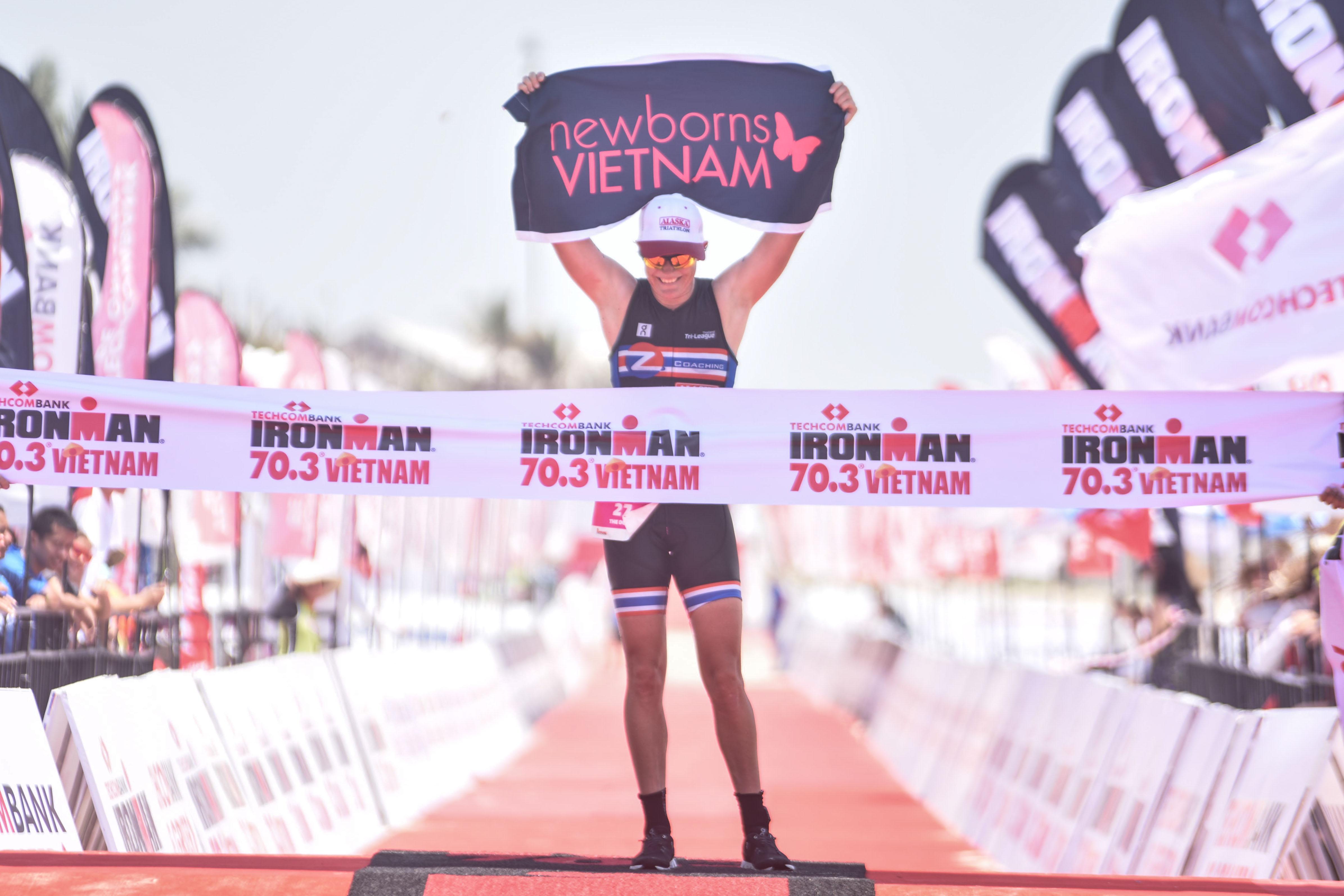 Ấn tượng cuộc tranh tài của các vận động viên của nước chủ nhà tại Techcombank Ironman 70.3 vô địch Châu Á Thái Bình Dương
