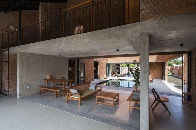 Ngôi nhà gạch ở Long An đẹp khó tin, nổi bật trên báo ngoại - 4