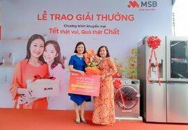 Tìm ra khách hàng may mắn trúng giải đặc biệt chương trình ưu đãi Xuân 2019 từ MSB