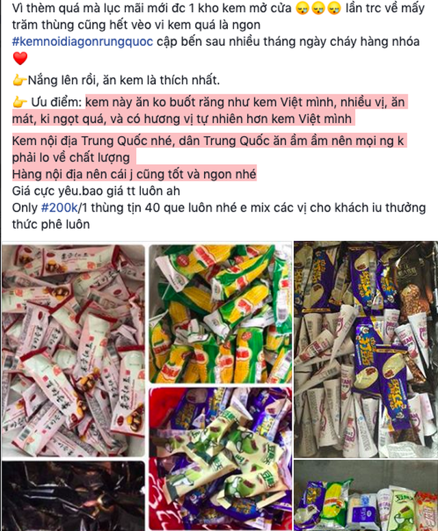 Thu giữ 8 ngàn que kem nhập lậu, lộ rõ những đường dây mua bán kem Trung Quốc giá siêu rẻ - 3