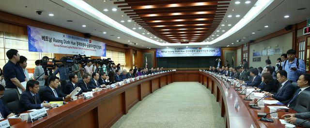 Ông Park Hang Seo được nhắc tới trong hợp tác kinh tế Việt - Hàn - 2