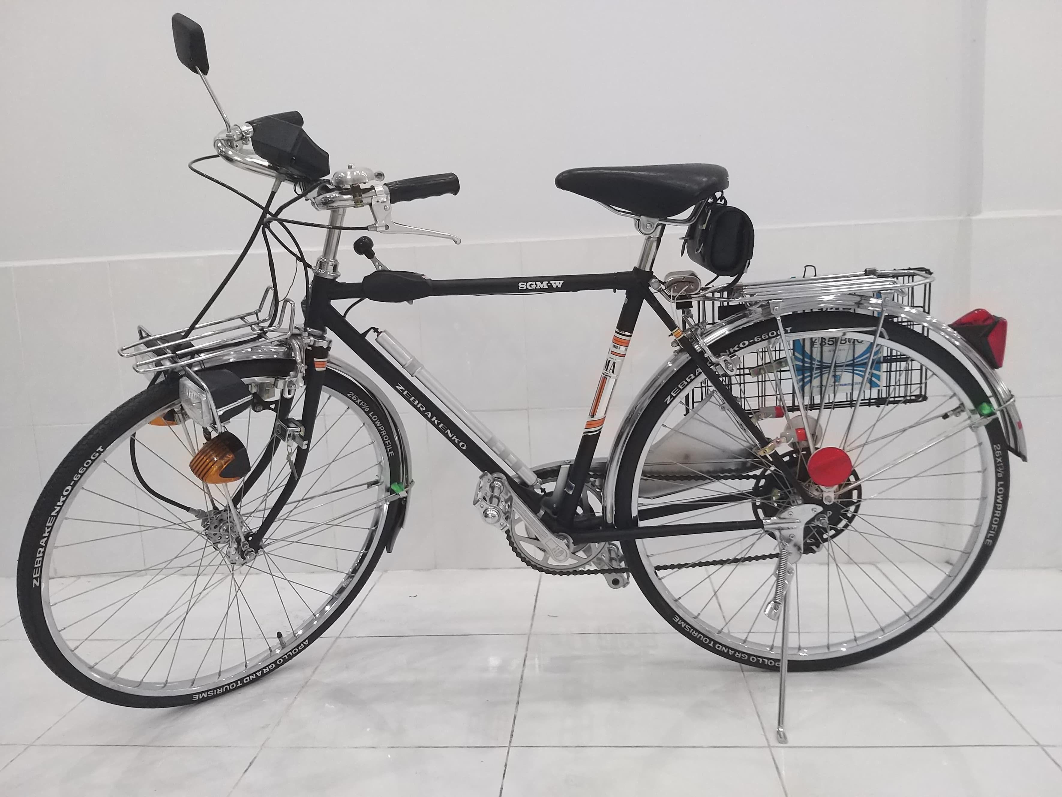"""Xe đạp """"thủy thủ"""" chưa lăn bánh sau 55 năm có giá trăm triệu ở TPHCM"""