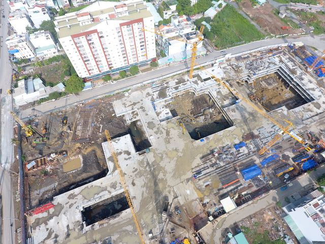 Cận cảnh dự án khủng trong khu đất vàng Quận 2, TPHCM vừa bị dừng thi công - 5
