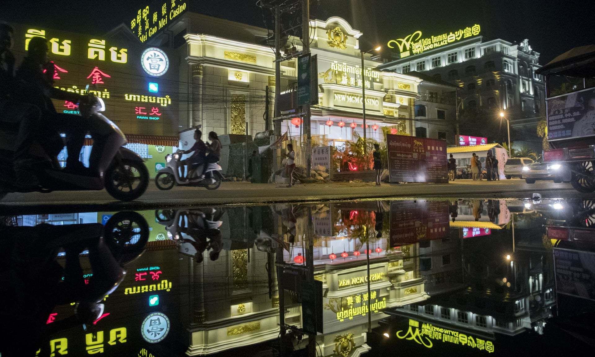 Trung Quốc đổ tiền vào Sihanoukville: Dân Campuchia không bén mảng đến các sòng bài