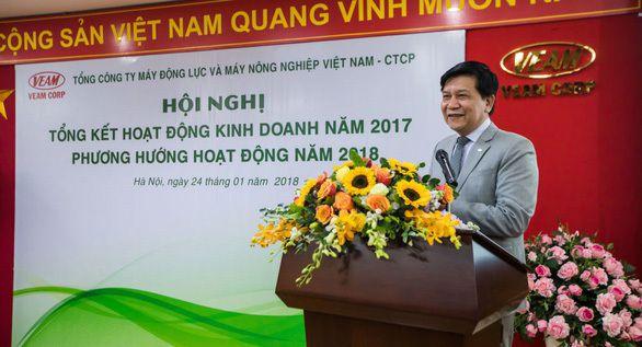 Bãi nhiệm chức danh cuối cùng của ông Trần Ngọc Hà tại VEAM