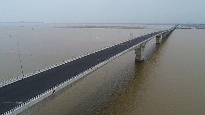 Đường ô tô vượt biển dài nhất Việt Nam: Giảm hiệu quả kinh tế vì chậm tiến độ 4 năm