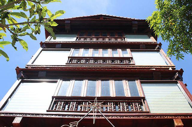 """Khám phá ngôi nhà gỗ 5 tầng """"độc nhất vô nhị"""" của lão gia ở Hà Tĩnh - 2"""