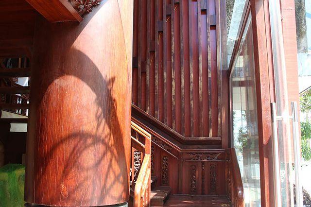 """Khám phá ngôi nhà gỗ 5 tầng """"độc nhất vô nhị"""" của lão gia ở Hà Tĩnh - 3"""