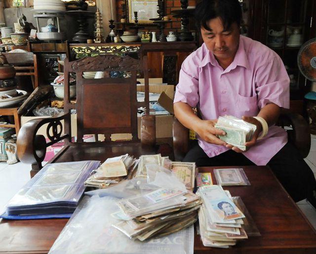 300 bộ tiền xưa Việt Nam vô cùng độc lạ hiếm của thầy giáo An Giang - 1