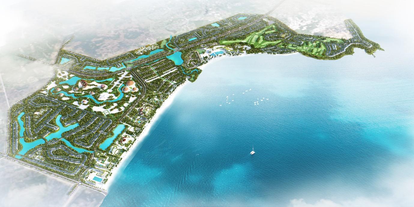 Xúc tiến gặp mặt đối tác chiến lược 3 miền, siêu dự án FLC Quảng Ngãi chính thức khởi động