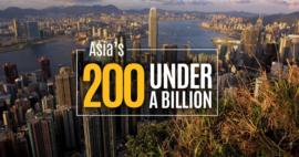 Việt Nam có 4 doanh nghiệp lọt top 200 công ty tốt nhất châu Á có doanh thu dưới 1 tỷ đô la của Forbes