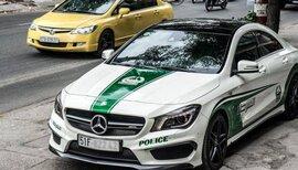 Cục Đăng kiểm đề nghị chủ xe ôtô gỡ logo cảnh sát Dubai