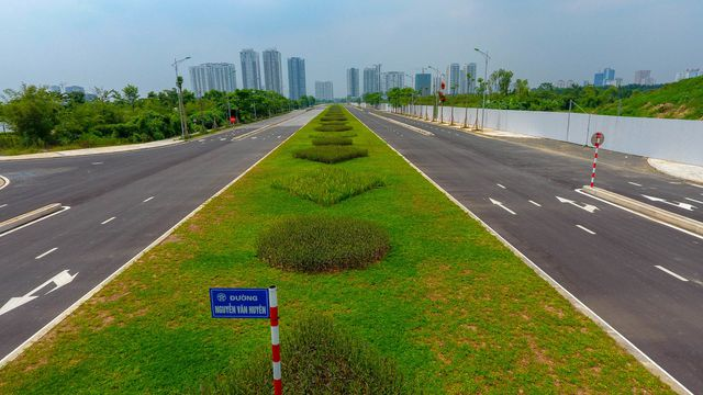 Đường 8 làn xe nối 3 quận nội thành Hà Nội - 12