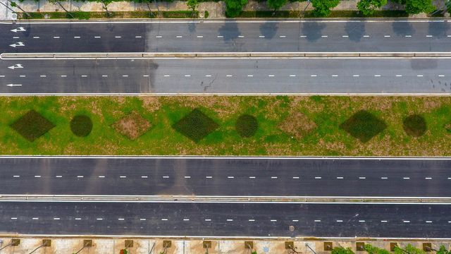 Đường 8 làn xe nối 3 quận nội thành Hà Nội - 3