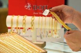 Giá vàng bật tăng trở lại ở vùng giá cao