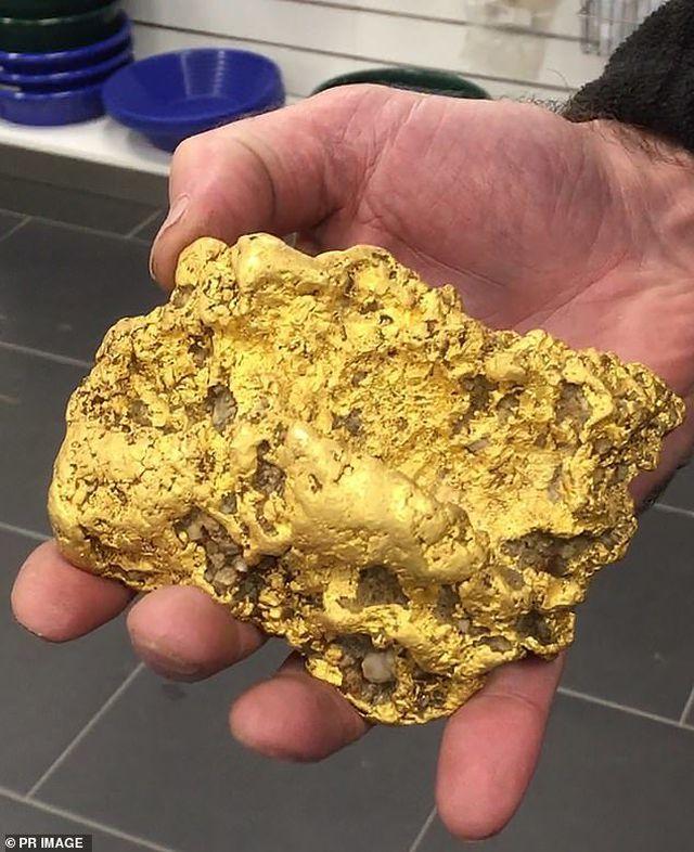 Đào được cục vàng 2 kg, thức trắng 3 đêm không ngủ - 1