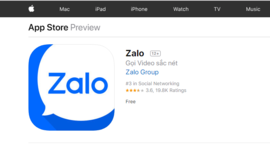 Bộ Thông tin và Truyền thông: Zalo có cổ phần nước ngoài là hợp pháp!