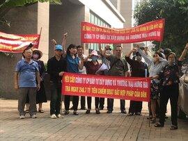 Khu đô thị quốc tế lớn nhất Hà Nội: Dân bức xúc, Hà Nội lệnh dừng chỉnh quy hoạch