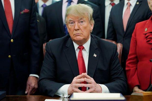 """Ông Trump nói đòn thuế quan """"giúp Trung Quốc nhiều hơn Mỹ"""" - 1"""