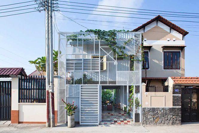 Ngôi nhà tận dụng vật liệu