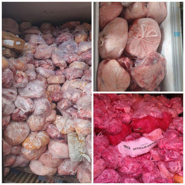40 tấn thịt đông lạnh hôi thối suýt bị làm giò chả nhiễm dịch tả lợn châu Phi - 1