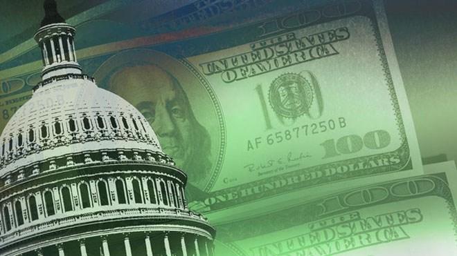 Thâm hụt ngân sách của Mỹ trong năm tài chính tiếp theo được dự báo lên 1.000 tỷ USD