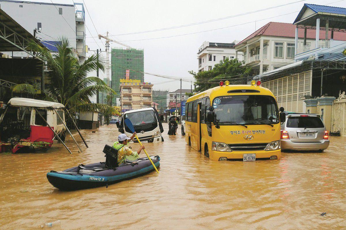 """Thành phố của Campuchia đang """"chết đuối"""" vì tiền của Trung Quốc?"""