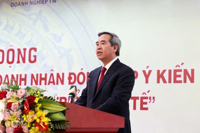 Trưởng Ban Kinh tế trung ương: Tư nhân sợ chơi không muốn dính đến doanh nghiệp Nhà nước - 1