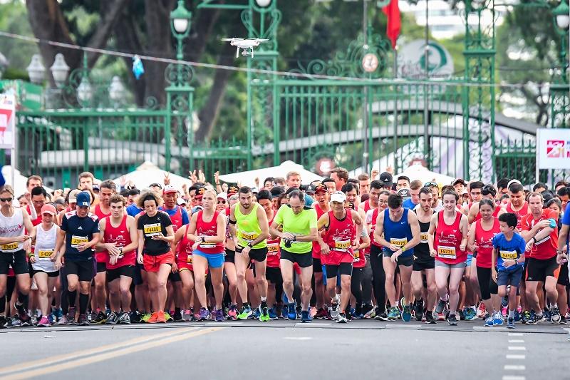 Thêm 3.000 cơ hội tham gia giải marathon quốc tế TPHCM Techcombank