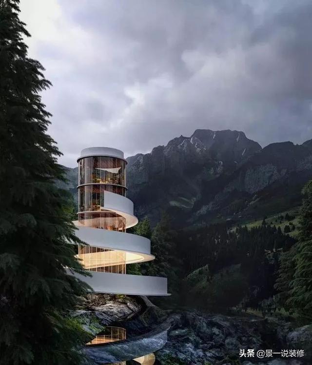 """Top 10 biệt thự """"dị"""" nhất thế giới xây dựng ở vùng đất mà bạn không ngờ đến - 8"""