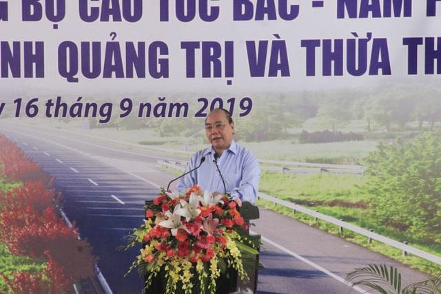 Thủ tướng dự lễ khởi công cao tốc Bắc - Nam đoạn qua Quảng Trị, TT-Huế - 4