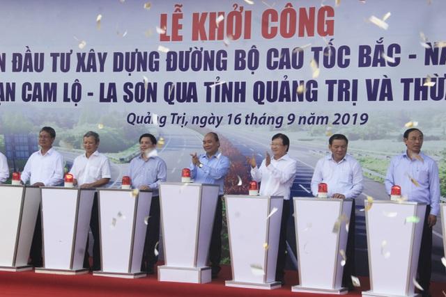 Thủ tướng dự lễ khởi công cao tốc Bắc - Nam đoạn qua Quảng Trị, TT-Huế - 5