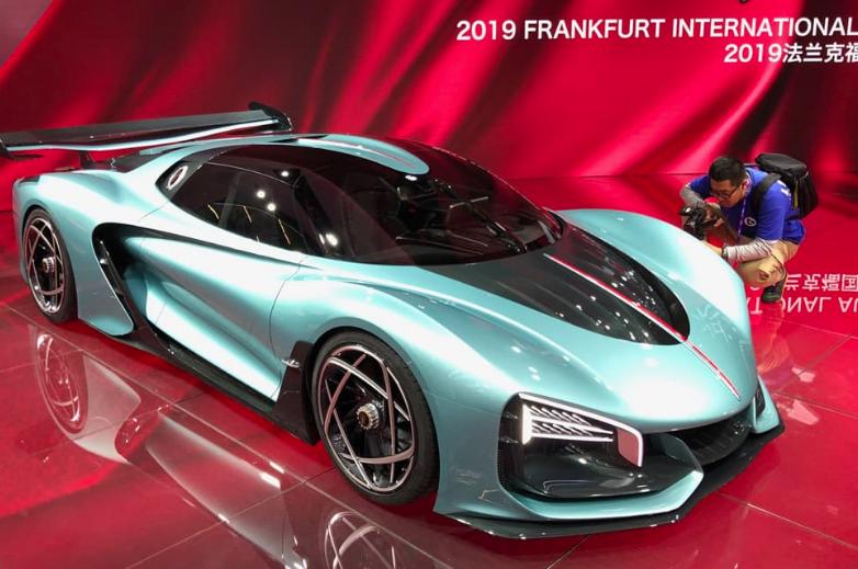 """Hãng xe sang Trung Quốc """"chơi lớn"""" tại Triển lãm ô tô Frankfurt 2019"""