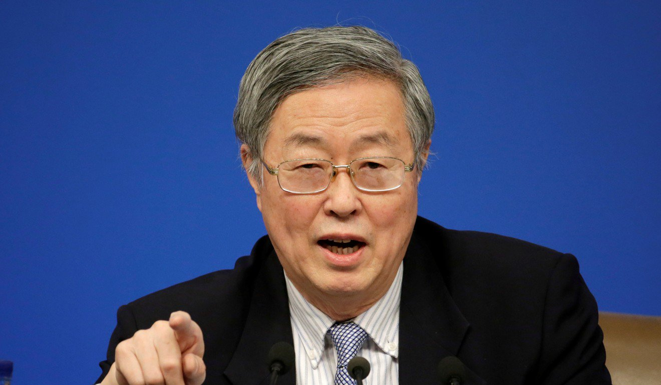 Former governor of the People's Bank of China, Zhou Xiaochuan. Photo: Reuters