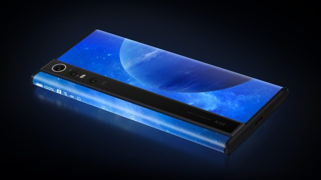 Độc đáo chiếc smartphone có màn hình... bao quanh thân máy, giá 2.800 USD - 3