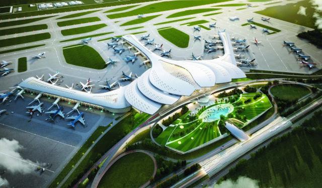 """Hé lộ nguồn vốn """"khủng"""" 4,7 tỷ USD """"rót"""" cho Dự án sân bay Long Thành - 1"""