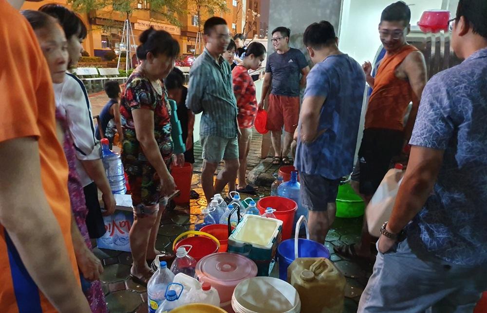 Công ty nước sạch sông Đà cấp nước trở lại